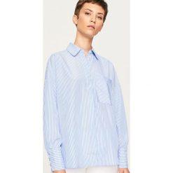 Koszula w paski - Wielobarwn. Szare koszule damskie Reserved, w paski. W wyprzedaży za 39,99 zł.