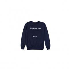 T-shirt długi rękaw męski z printem. Szare t-shirty męskie marki TXM, m. Za 24,49 zł.