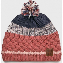 Roxy - Czapka. Różowe czapki zimowe damskie Roxy, z dzianiny. Za 139,90 zł.