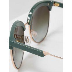 Okulary przeciwsłoneczne damskie aviatory: Emporio Armani Okulary przeciwsłoneczne green