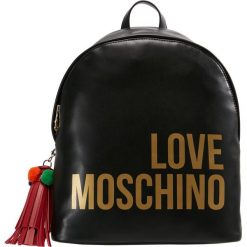 Plecaki damskie: Love Moschino POM POM BACKPACK Plecak schwarz