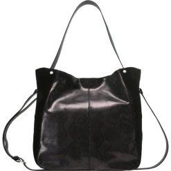 Mint&berry Torba na zakupy black. Czarne torebki klasyczne damskie mint&berry. Za 379,00 zł.