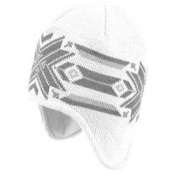 Czapki damskie: NEVERLAND Czapka damska Inka biało-szara
