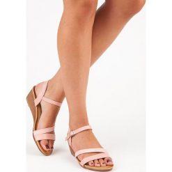Sandały damskie: Wygodne sandały na koturnie MARLEY