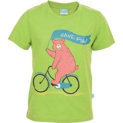 T-shirty chłopięce: Koszulka BAAR KIDS GREEN 134