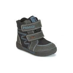Śniegowce Dziecko Primigi  PRIGT 8553 GORE-TEX. Czarne buty zimowe chłopięce marki ecco, z gore-texu, na sznurówki. Za 231,20 zł.
