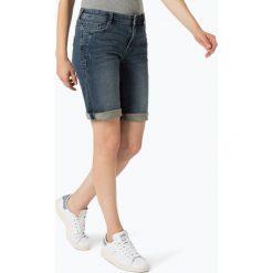 Bermudy damskie: s.Oliver Casual – Damskie krótkie spodenki jeansowe, niebieski
