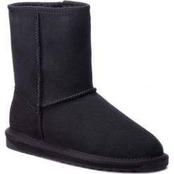 Buty EMU AUSTRALIA - Stinger Lo W10002 Black. Czarne buty zimowe damskie EMU Australia, z gumy. Za 729,00 zł.