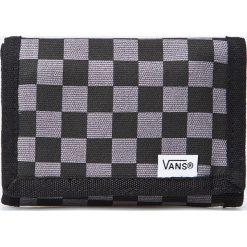 Vans - Portfel Slipped. Szare portfele męskie marki Vans, z gumy, na sznurówki. W wyprzedaży za 59,90 zł.