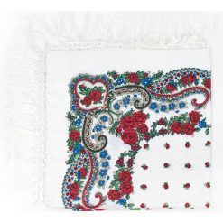 Chusty damskie: Art of Polo Chusta damska Słowianka biała
