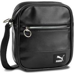Torebki klasyczne damskie: Saszetka PUMA - Orginals Portable 075016  Puma Black 01