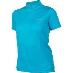 Brugi Koszulka damska 2KA6 377-AZZURRO niebieska r. XL. Niebieskie bluzki asymetryczne Brugi, xl. Za 39,99 zł.