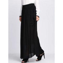 Długie spódnice: Czarna Spódnica You Will Answer