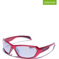 Okulary przeciwsłoneczne męskie lustrzane: Okulary męskie w kolorze czerwono-srebrnym