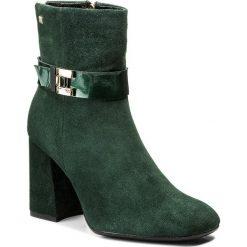 Buty zimowe damskie: Botki MACCIONI - 6050 Zielony