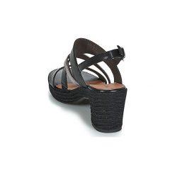 Sandały Tamaris  RICIPAN. Czarne sandały damskie marki Tamaris. Za 247,20 zł.