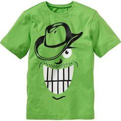 Odzież dziecięca: T-shirt bonprix jaskrawy zielony