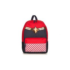 Plecaki Vans  CAPTAIN MARVEL REALM BACKPACK. Czerwone plecaki damskie marki Vans, z motywem z bajki. Za 199,00 zł.