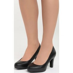 Buty ślubne damskie: Czarne Czółenka Quintessential