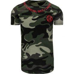 T-shirty męskie z nadrukiem: T-shirt męski z nadrukiem woodland camo (rx1994)
