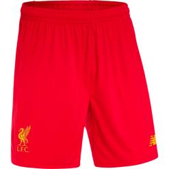 Spodenki Liverpool LFC Home Kit - MS630001HRD. Czerwone spodenki sportowe męskie marki New Balance, na jesień, m, z materiału. Za 59,99 zł.