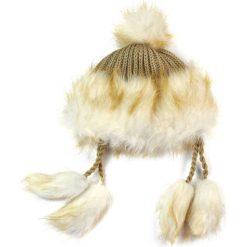 Czapka damska Wschodnia elegancja beżowa. Brązowe czapki zimowe damskie Art of Polo. Za 38,41 zł.