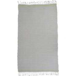Kąpielówki męskie: Ręcznik w kolorze biało-żółtym