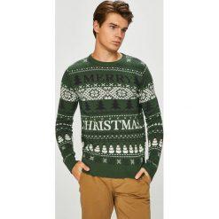 Produkt by Jack & Jones - Sweter. Niebieskie swetry klasyczne męskie marki Reserved, l, z okrągłym kołnierzem. Za 129,90 zł.