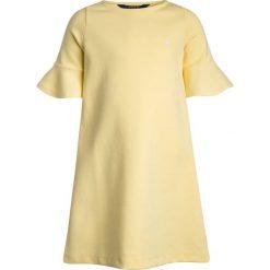 Odzież dziecięca: Polo Ralph Lauren SOLID PONTE DRESSES Sukienka z dżerseju wicket yellow