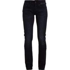 GStar MIDGE SADDLE MID STRAIGHT  Jeansy Straight Leg rink superstretch. Niebieskie jeansy damskie G-Star. Za 549,00 zł.