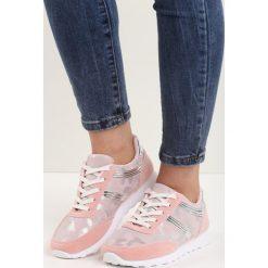 Różowe Buty Sportowe Good Times. Czerwone buty sportowe damskie marki Born2be, moro, z materiału. Za 69,99 zł.