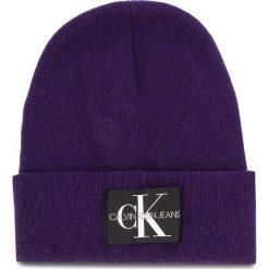Czapka CALVIN KLEIN JEANS - J Basic Women Knitte K60K604780 507. Szare czapki zimowe damskie marki Calvin Klein Jeans, na zimę, z jeansu. Za 179,00 zł.