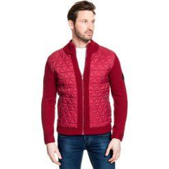 Sweter AROLDO SWTR000153. Czarne swetry rozpinane męskie marki Giacomo Conti, m, z bawełny, z klasycznym kołnierzykiem. Za 499,00 zł.