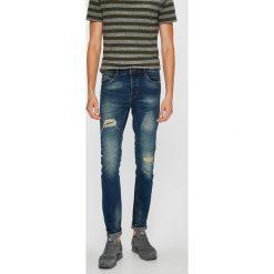 Only & Sons - Jeansy Loom. Niebieskie jeansy męskie slim marki Only & Sons. W wyprzedaży za 179,90 zł.