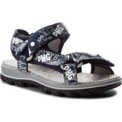 Sandały PRIMIGI - 1394611 M Blu. Niebieskie sandały chłopięce Primigi, z materiału. W wyprzedaży za 169,00 zł.