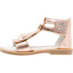 Friboo Sandały rose gold. Czerwone sandały chłopięce marki Friboo, z materiału. Za 169,00 zł.
