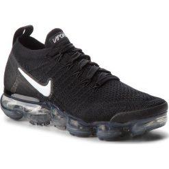Buty NIKE - Air Vapormax Flyknit 2 942843 001 Black/White/Dark Grey. Czarne buty do biegania damskie Nike, z materiału. W wyprzedaży za 669,00 zł.