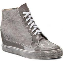 Sneakersy OLEKSY - 449/802/740/399 Szary. Szare sneakersy damskie marki Oleksy, ze skóry. W wyprzedaży za 239,00 zł.