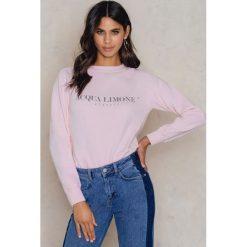 Bluzy rozpinane damskie: Acqua Limone Bluza Classic Collage - Pink