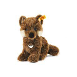 Steiff  Maskotka Mały lis Fuxy 18 cm - brązowy. Brązowe przytulanki i maskotki marki Steiff, z materiału. Za 146,00 zł.