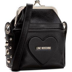 Torebka LOVE MOSCHINO - JC4085PP14LL0000  Nero. Czarne listonoszki damskie marki Love Moschino. W wyprzedaży za 529,00 zł.