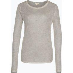 Swetry klasyczne damskie: Esprit Casual – Sweter damski z dodatkiem moheru, szary