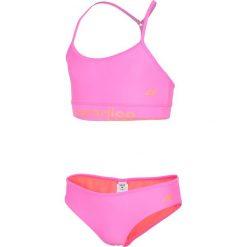 Stroje jednoczęściowe dziewczęce: Kostium kąpielowy dla dużych dziewcząt JKOS211 – koral neon