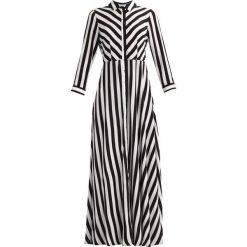 Długie sukienki: YAS YASSAVANNA LONG DRESS Długa sukienka star white/black