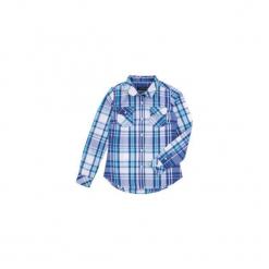 Koszula dziewczęca z kieszonkami. Niebieskie bluzki dziewczęce TXM. Za 39,99 zł.