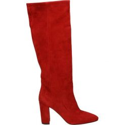 Kozaki - 02511 CAM RED. Czerwone buty zimowe damskie marki Venezia, ze skóry. Za 639,00 zł.