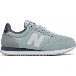 New Balance KL220C1Y. Szare buty sportowe dziewczęce marki New Balance, na lato, z materiału. Za 129,99 zł.