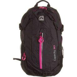 """Plecaki damskie: Plecak """"Nagisa"""" w kolorze czarno-różowym – 26,5 x 49 x 14 cm"""
