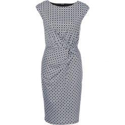 Sukienki: Sukienka bonprix czarno-biały z nadrukiem