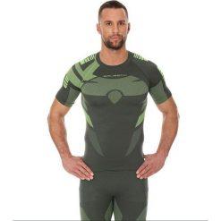 Brubeck Koszulka męska DRY zielona r. M (SS11970). Zielone koszulki sportowe męskie marki Brubeck, m. Za 84,99 zł.